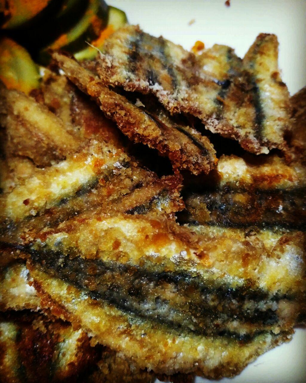 Alici panate al forno super croccanti e gluten free