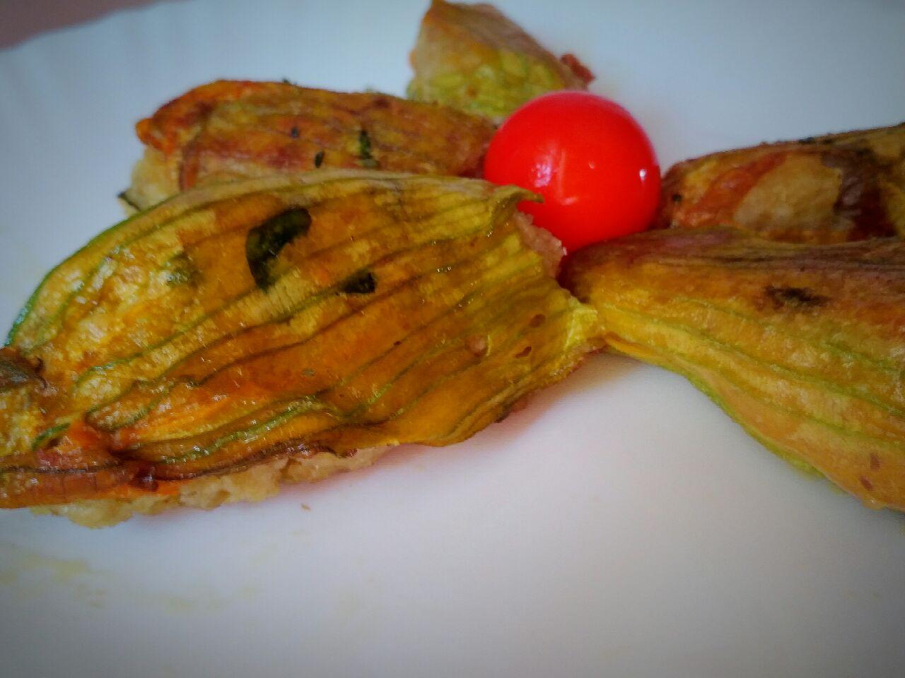 Fiori di zucca ripieni: ricetta facile e veloce