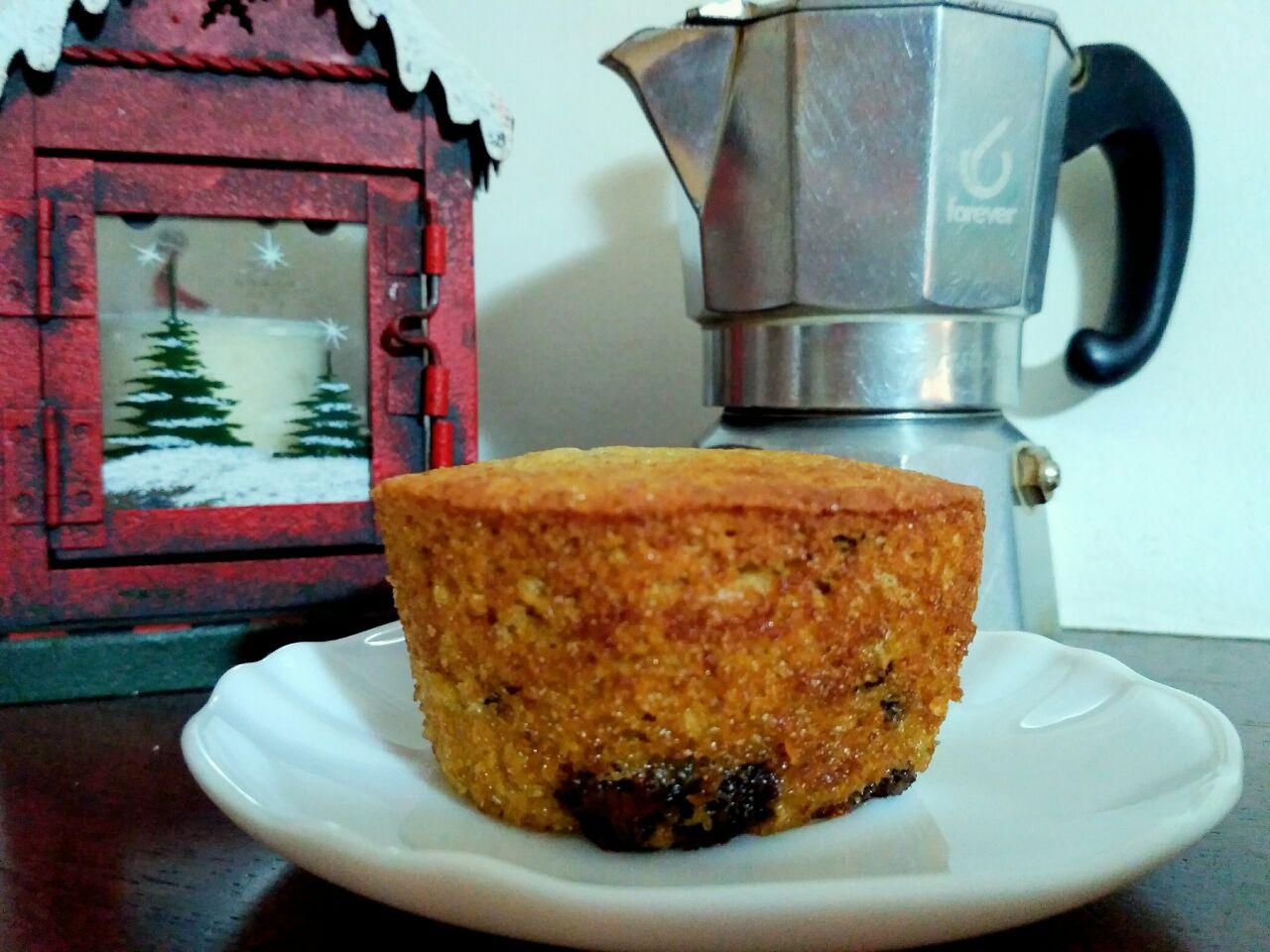 Muffin al caffè e cioccolato fondente