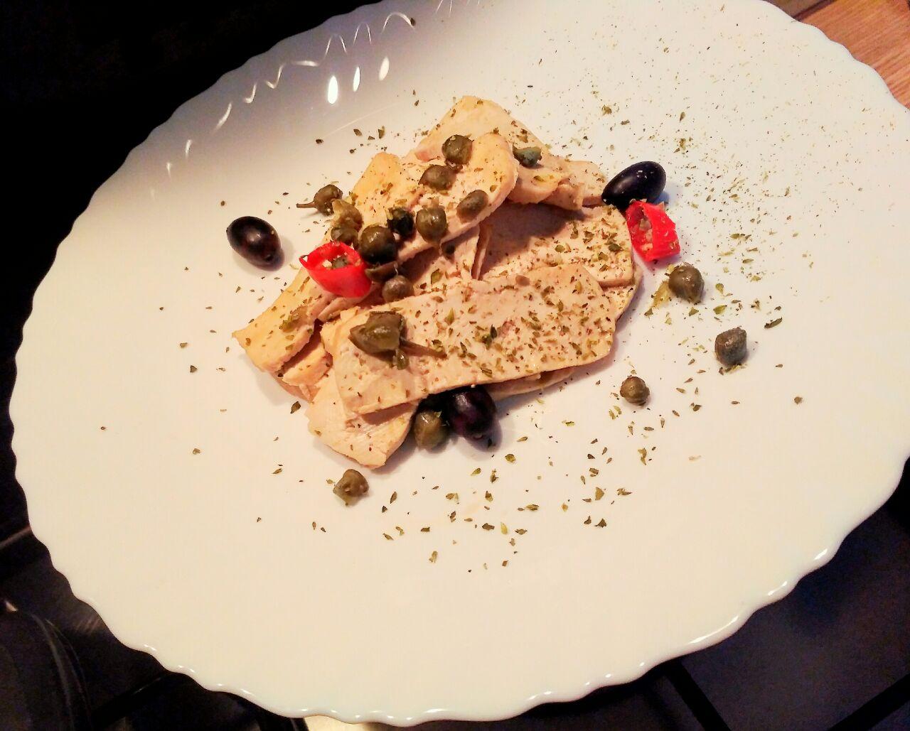 Ricette vegane: tofu in veste mediterranea