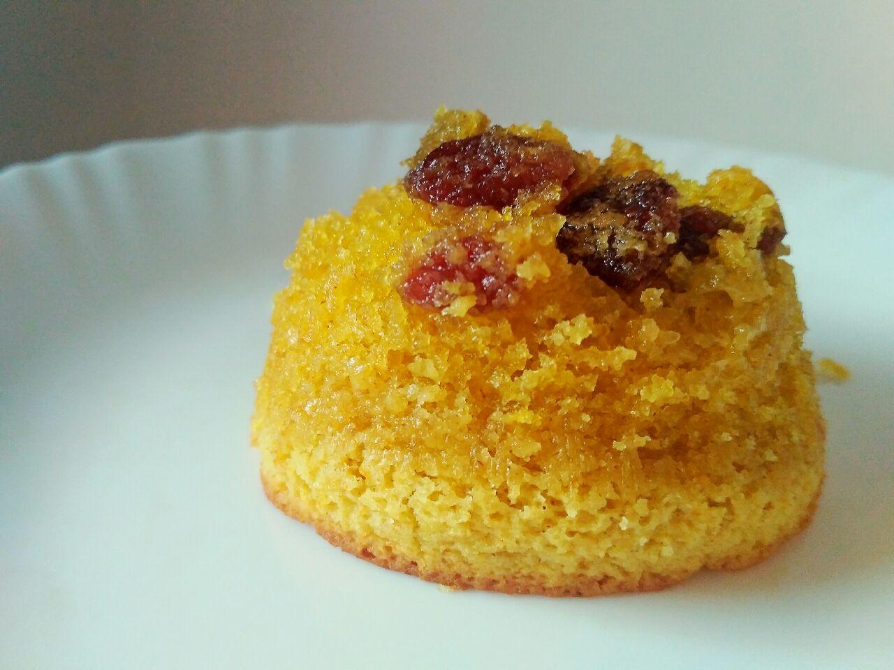 Dolci leggeri: muffin all'arancia vegani, senza uova e senza latte!