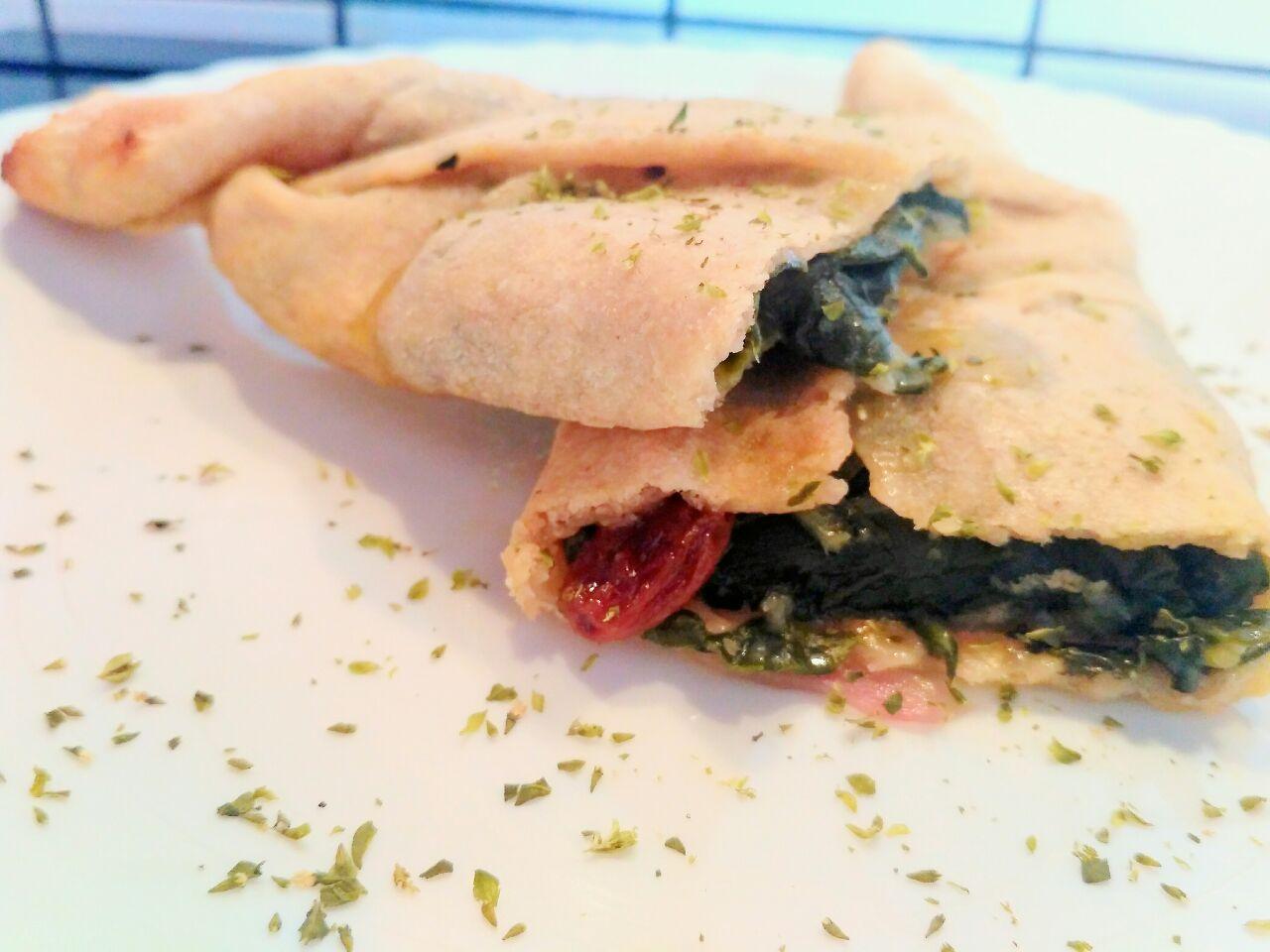 Antipasto vegan: caramella salata ripiena di verdure, senza uova e senza formaggio!