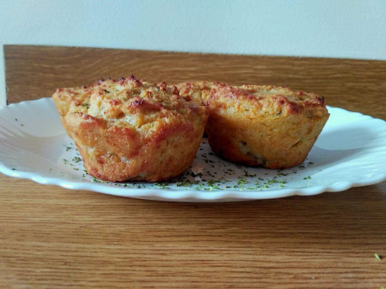 Finger food: muffin salati senza burro e senza lievito!