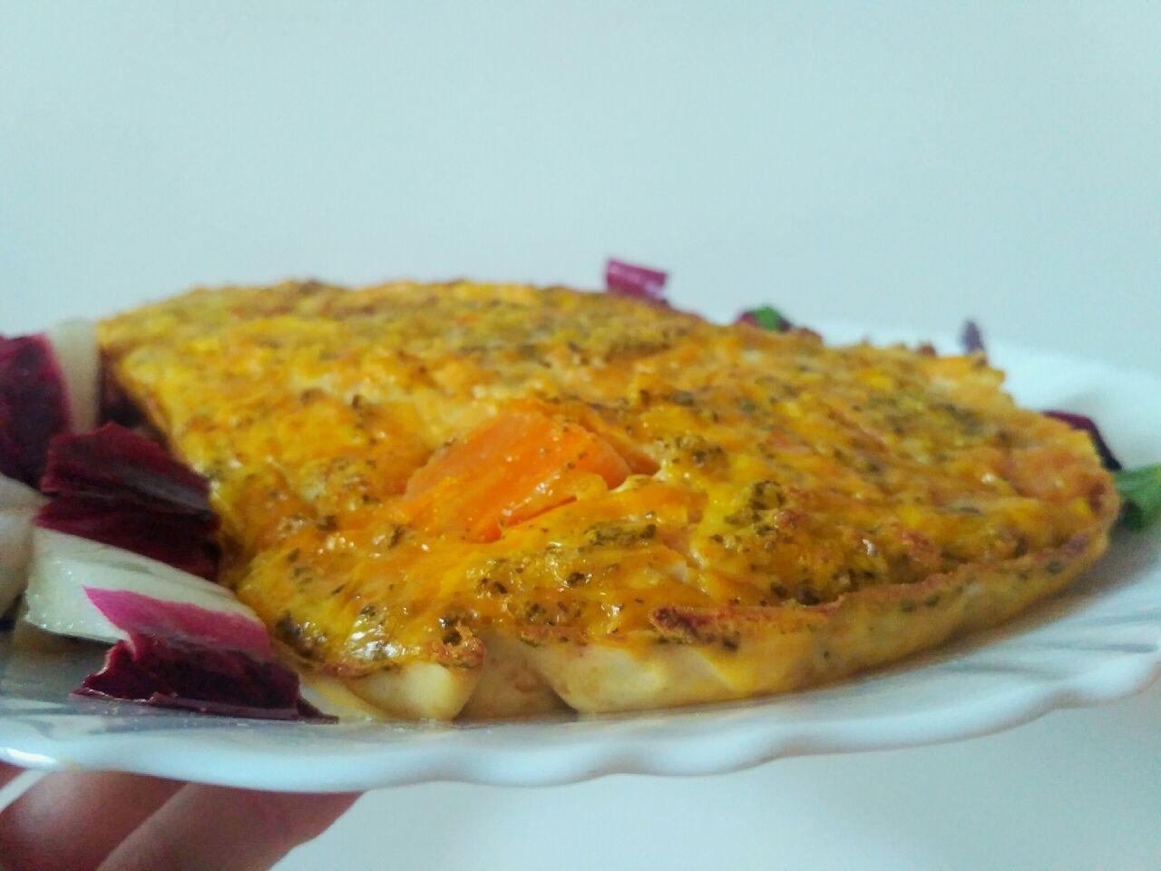 Usiamo le verdure di stagione: sformato di zucca al forno, senza burro e senza formaggio!