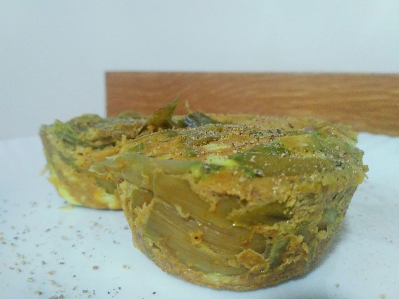 Ricette di stagione: tortini di carciofi, senza latte e senza formaggio!