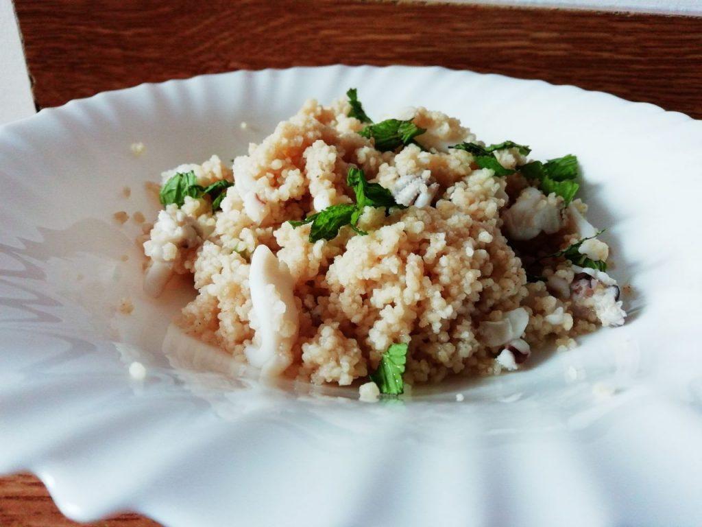 Primi piatti leggeri: cous cous alle seppioline, light e gustoso!