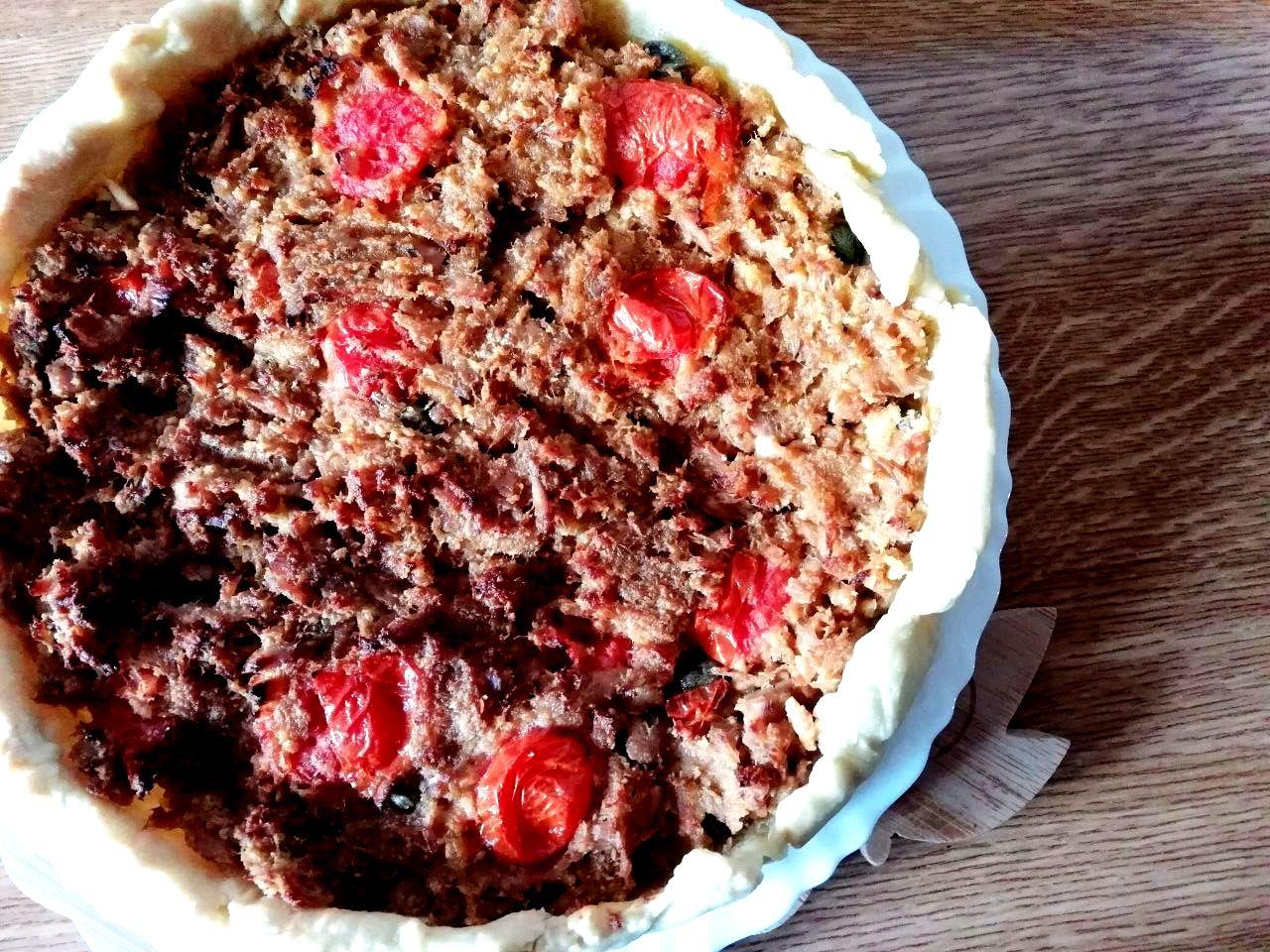 Torte salate: con tonno, capperi e pomodorini!