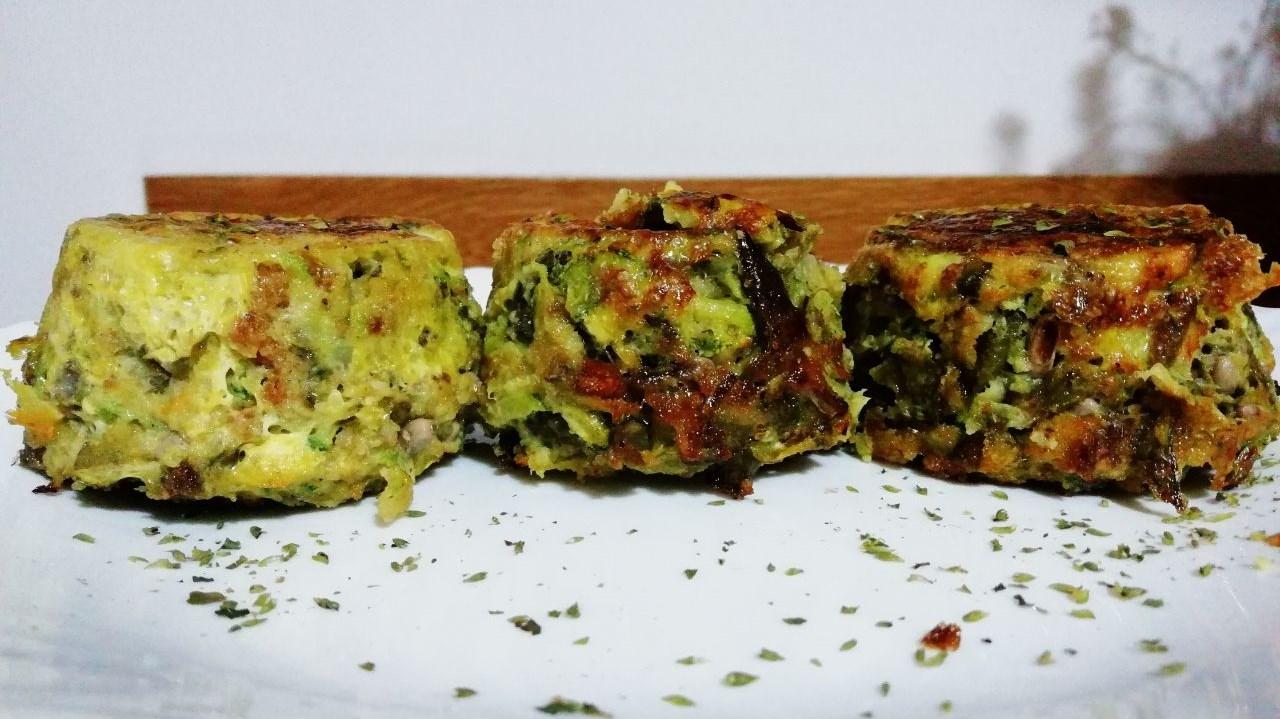 Antipasti economici: tortini di fagiolini, senza burro e senza formaggio!