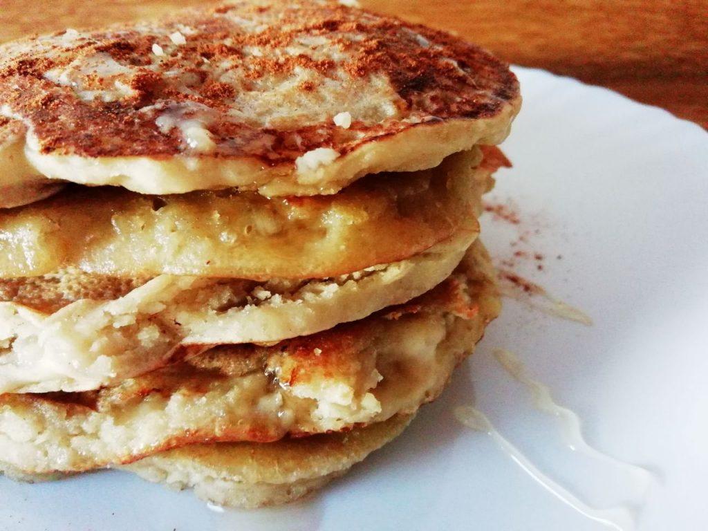 Colazioni alternative: pancake alla banana senza lattosio, senza burro e senza glutine!