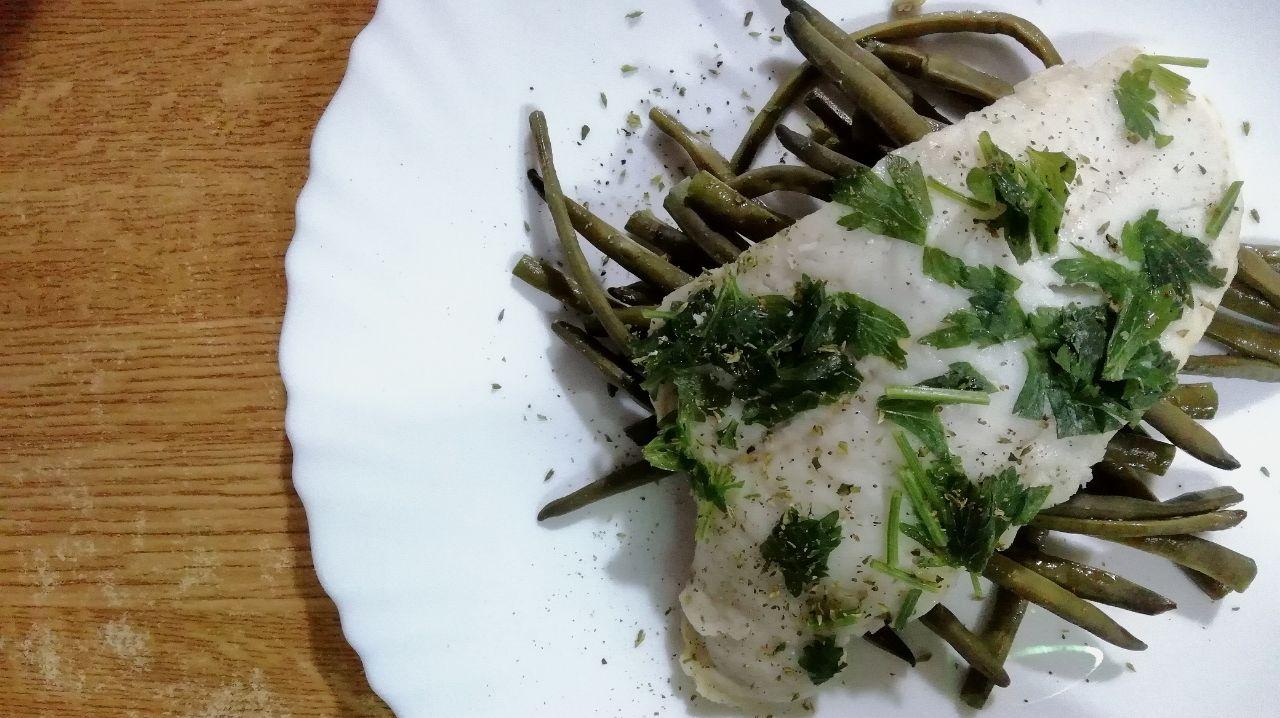 Secondi piatti a base di pesce: merluzzo prezzemolato al vino bianco!