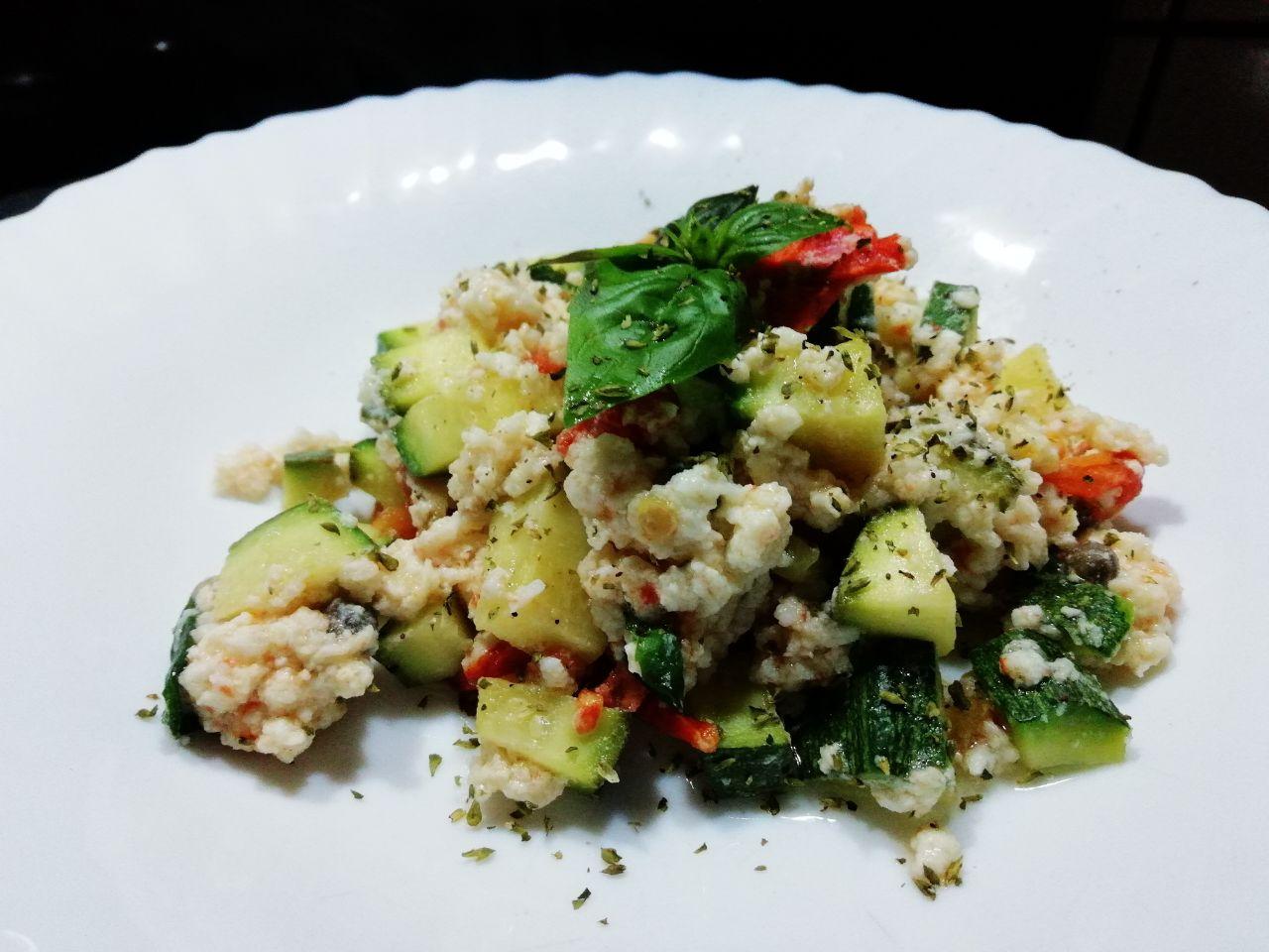 Ricette light: albume strapazzato con verdure estive!