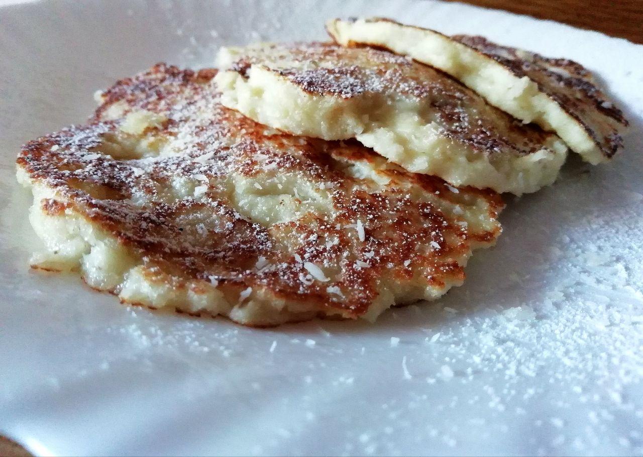 Dolci leggeri: pancakes al cocco, facili e light!