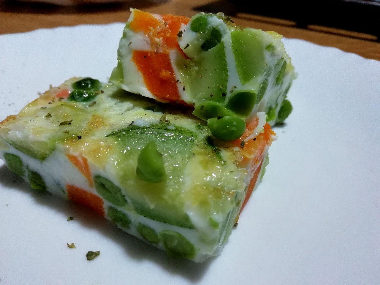 Ricette leggere economiche: sformato piselli, zucchine e carote!