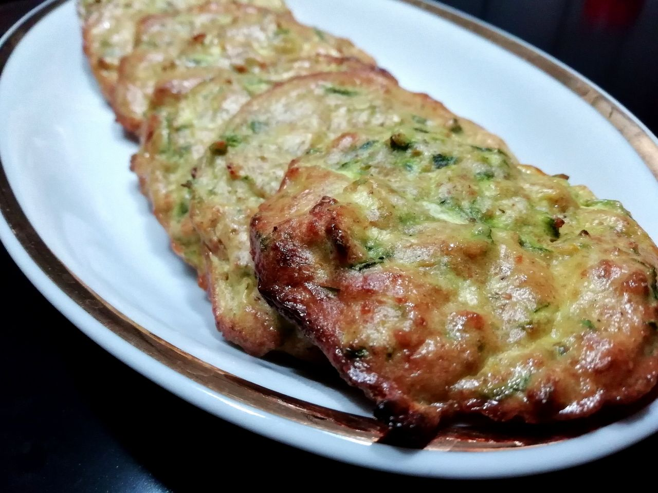 Ricette vegetariane: rosti di zucchine al forno!
