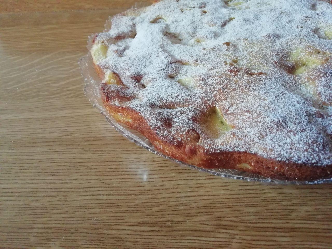 Dolci leggeri: torta con mele e pere, senza burro e senza lattosio!