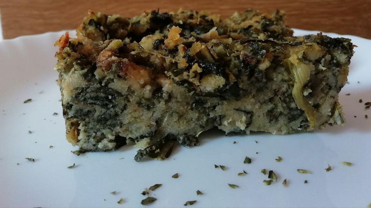 Piatti a base di verdure: sformato di cicorie al forno!