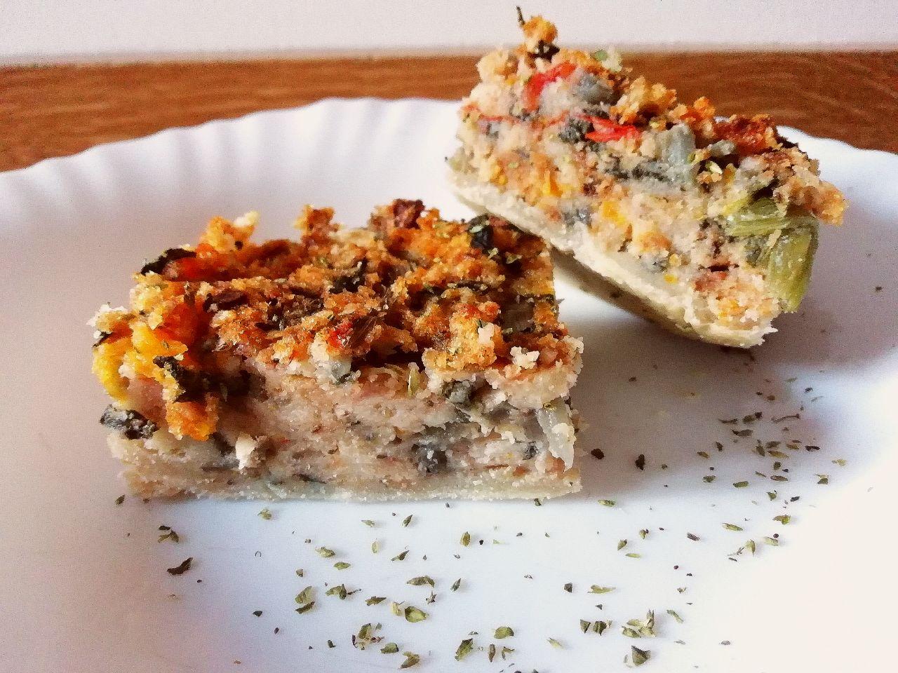 Antipasti a base di verdure: torta salata, senza burro, con bietole e pomodorini!