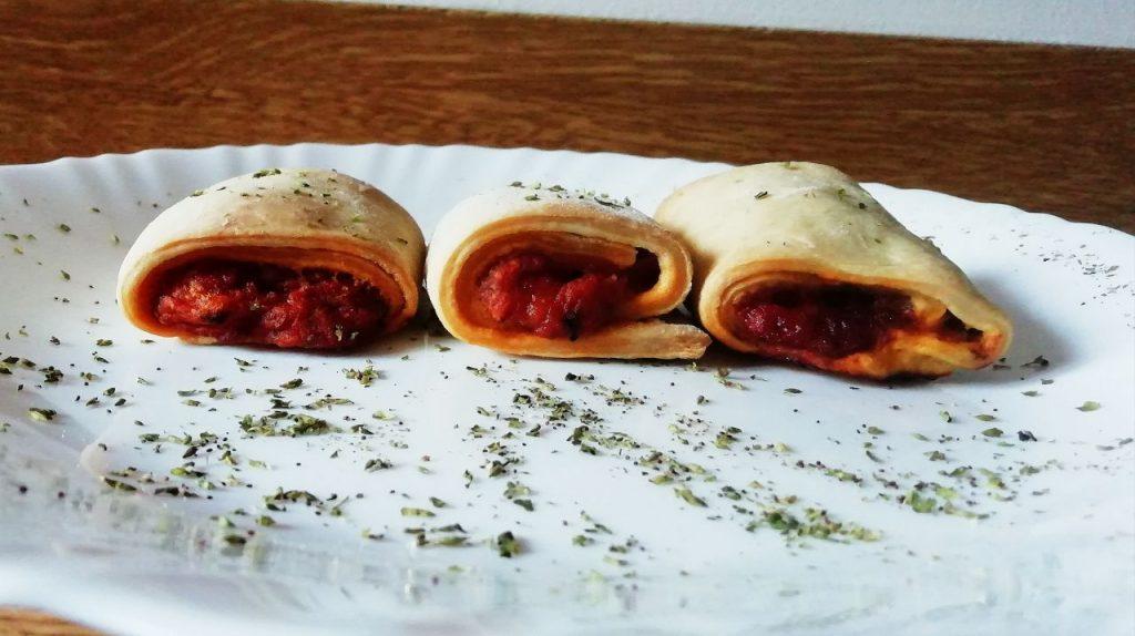 Antipasti a base di verdure: girelle alla pizzaiola, senza lattosio e senza burro!