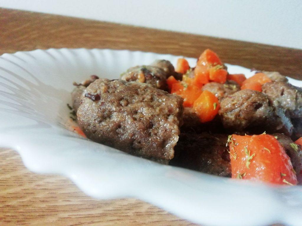 Primi piatti a base di legumi: gnocchi di fagioli rossi e farina integrale con carote!
