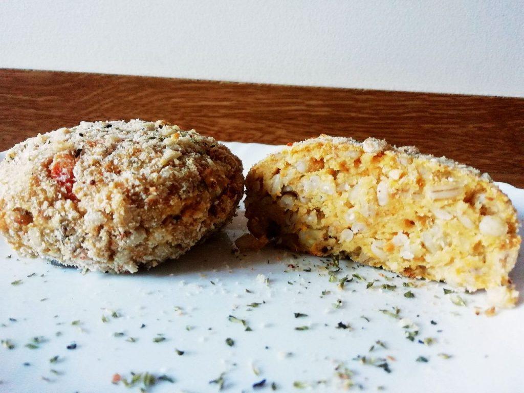 Piatti unici senza burro e senza lattosio: burger di orzo perlato e zucca!