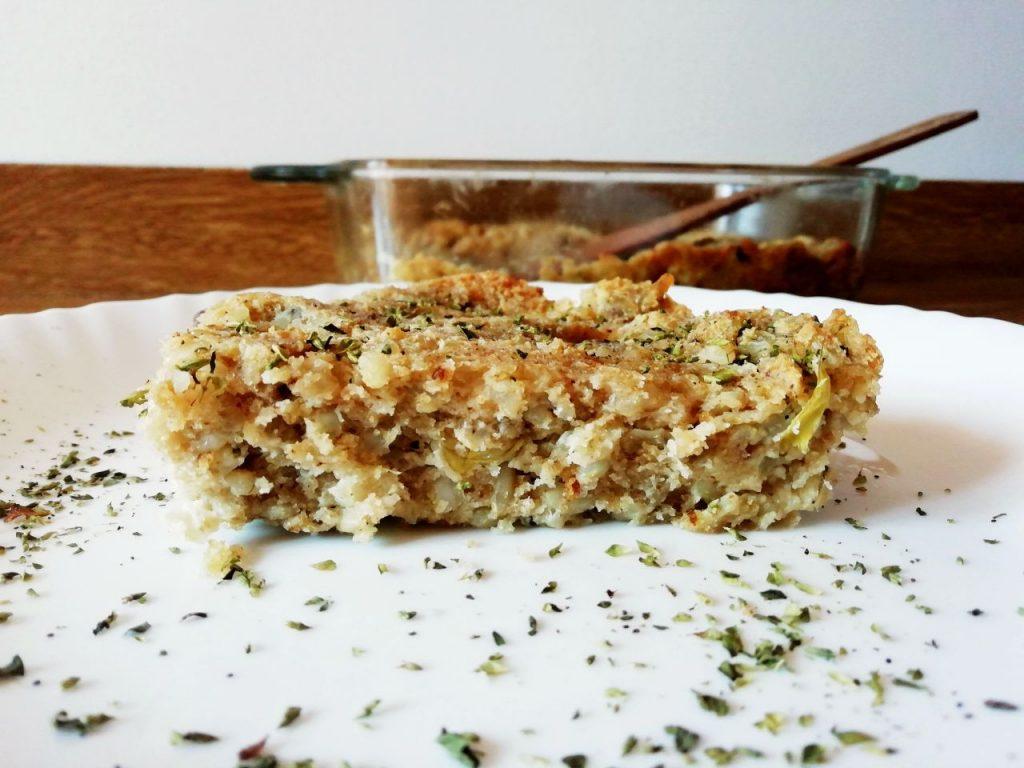 Ricette semplici e veloci: sformato di riso integrale e carciofi al forno!