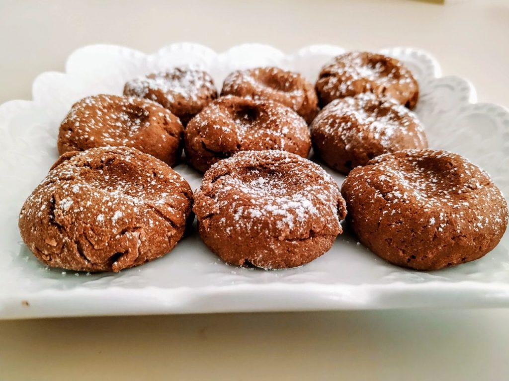 Dolci semplici facili e veloci: biscotti alla crema di nocciole senza l'aggiunta di zucchero!