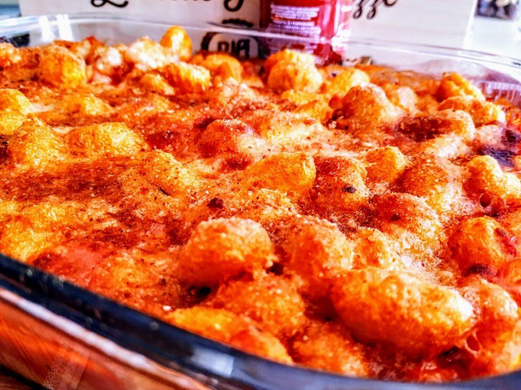Primi piatti senza glutine: gnocchi di patate al forno con sugo di pomodoro e mozzarella filante!