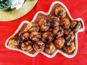 Dolci facili e veloci: bignè con crema al cioccolato crema di nocciole e cocco