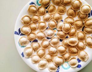 Pasta fresca senza uova: orecchiette fatte in casa con farina di grano senatore cappelli